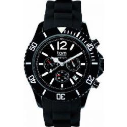 Tom Watch, Chrono 48mm, black-black Edelstahl, WA00096 Big Chrono black-black