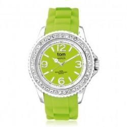 "Tom Watch Crystal 40 ""lemon green"", Einheitsgröße,grün"