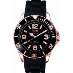 Tom Watch, New-Collection 2012, Gold-Case, pepper-black, rosegold WA00114 (44mm)