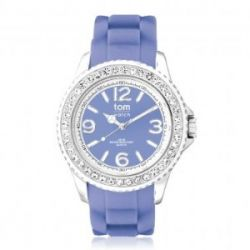 "Tom Watch Crystal 40 ""lavender blue"", Einheitsgröße, lavendel"