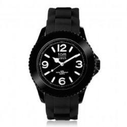 """Tom Watch Basic 48 """"black black"""", Einheitsgröße, schwarz"""