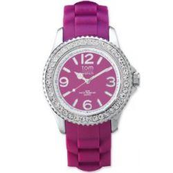 tom watch Damen-Armbanduhr XL Analog Silikon WA00043