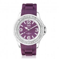 "Tom Watch Crystal 44 ""purple rain"", Einheitsgröße, purple"
