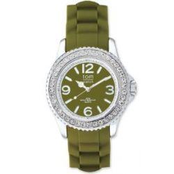 tom watch Damen-Armbanduhr XL Analog Silikon WA00042
