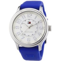 Tommy Hilfiger Watches Damen-Armbanduhr Analog Quarz Silikon 1781285