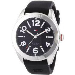 Tommy Hilfiger Damen-Armbanduhr Casual Sport Analog Quarz Silikon 1781257