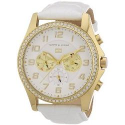 Tommy Hilfiger Watches Damen-Armbanduhr Analog Quarz Leder 1781280