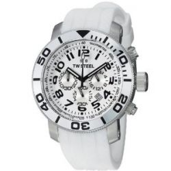 TW Steel Unisex-Armbanduhr Grandeur Diver Chronograph Quarz Silikon TW94