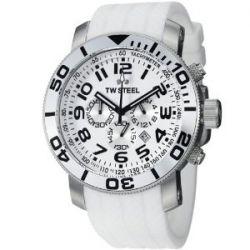 TW Steel Unisex-Armbanduhr Grandeur Diver Chronograph Quarz Silikon TW95