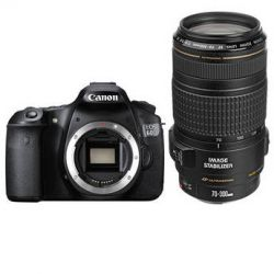 Canon EOS 60D Digital SLR Camera with EF 70-300mm f/4-5.6 IS B&H
