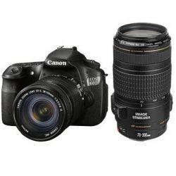 Canon EOS 60D Digital SLR Camera w/EF-S 18-135mm IS & B&H
