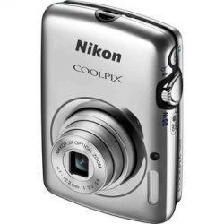 Nikon  COOLPIX S01 Digital Camera (Silver) 26347 B&H Photo Video