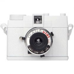Lomography  Diana Mini White Camera 594 B&H Photo Video