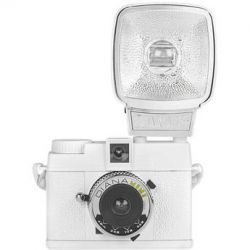 Lomography Diana Mini 35mm Camera with Flash (White) 598 B&H
