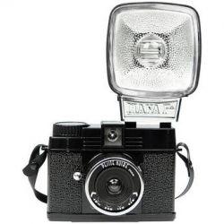 Lomography Diana Mini 35mm Camera with Flash (Petite Noire) 597
