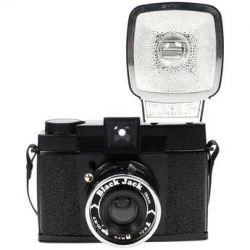 Lomography Diana F+ Medium Format Camera (Black Jack) 571 B&H