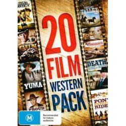 20 Film Western Pack (Once Upon a Texas Train/The Decoy/The Desert Trail/The Proud and Damned/The Dawn Rider/The Over the Hill Gang/Sitting Bull/Yuma/ on DVD.