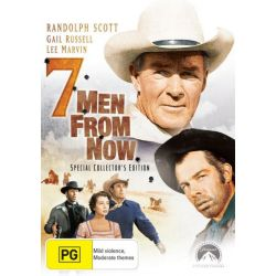 Seven Men from Now on DVD.