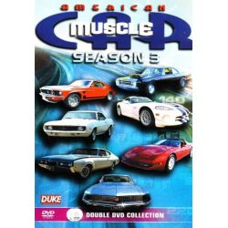 American Muscle Car - Season 3 (2 Disc Set) on DVD.