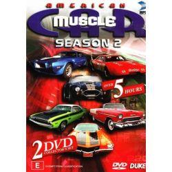 American Muscle Car - Season 2 (2 Disc Set) on DVD.