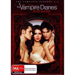The Vampire Diaries on DVD.