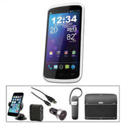 BLU Tank 4.5 4GB Smartphone with Bluetooth Essentials Bundle B&H