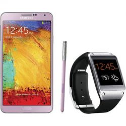 Samsung Galaxy Note 3 N9000 32GB Smartphone with Galaxy Gear B&H