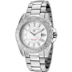 Swiss Legend Herren-Armbanduhr Grande Sport Analog edelstahl Silber sl-9100-22S