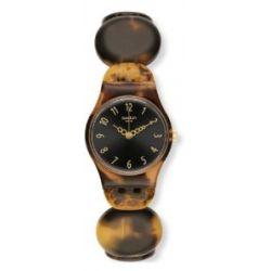 Swatch Damen-Armbanduhr XS Testudo Analog Quarz Plastik LC105B