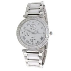 Stella Maris Damen-Armbanduhr Diamond Collection Analog Quarz Keramik ST13H05