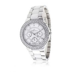Stella Maris Damen-Armbanduhr Diamond Collection Analog Quarz Keramik STM13G451