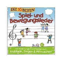 Musik: Die 30 Besten Spiel-Und Bewegungslieder  von Simone Sommerland Karsten Glück & Die Kita-Frösche