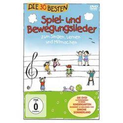 Musik: Die 30 Besten Spiel-Und Bewegungslieder-Die DVD  von S. Sommerland, die Glück K. & Kita-Frösche, Die Kita-Frösche