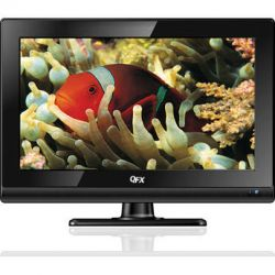 "QFX 15.6"" LED TV with ATSC/NTSC TV Tuner (Black) TVLED 1611"