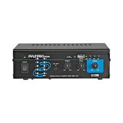Pyle Pro PCAU44 Mini 120 Watt x 2 Stereo Power Amplifier PCAU44