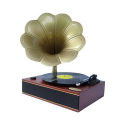 Pyle Pro Classic Horn Phonograph/Turntable with USB PNGTT1R B&H