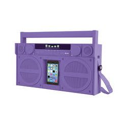 iHome iBT44 Bluetooth Portable FM Stereo Boombox IBT44UC B&H