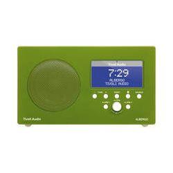 Tivoli Albergo Clock Radio with Bluetooth (Green/White) ALBGGR