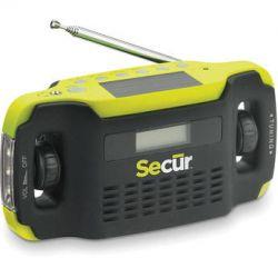 Secur Digital Solar Radio & LED Flashlight SCR-SP-2000 B&H