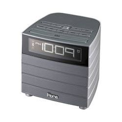 iHome IBT20G Bluetooth Wireless FM Clock Radio with USB IBT20G