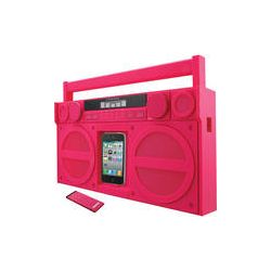 iHome iP4 Portable FM Stereo Boombox for iPhone / iPod IP4PZC