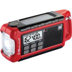 Midland ER200 Emergency Crank Weather Alert Radio ER200 B&H