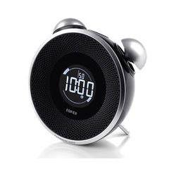 Edifier Tick Tock Bluetooth and FM Radio Speaker MF240BT-B B&H