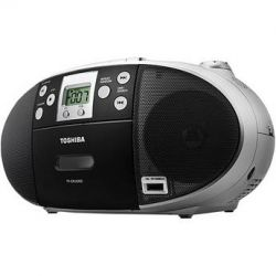 Toshiba Portable CD/USB Radio Cassette Player/Recorder