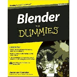 Blender For Dummies, 2nd Edition by Jason Van Gumster, 9780470584460.