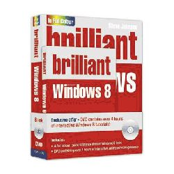 Brilliant Windows 8 Book and DVD Pack by Steve Johnson, 9780273785965.