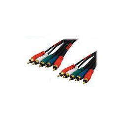 Tera Grand 5 RCA Male to 5 RCA Male Component AV-5RCA-25 B&H