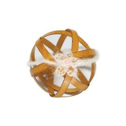Custom Photo Props Crochet Flower Mohair Headband (Ivory) 1067