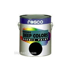 Rosco Iddings Deep Colors Paint - Black 150055520128 B&H Photo