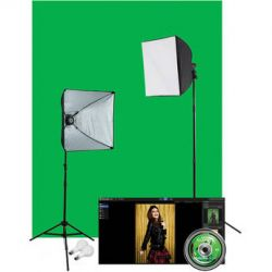 Westcott Illusions uLite 2-Light Green Screen Photo 401N B&H